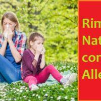 rimedi naturali contro allergia