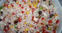 ricetta estate insalata di riso