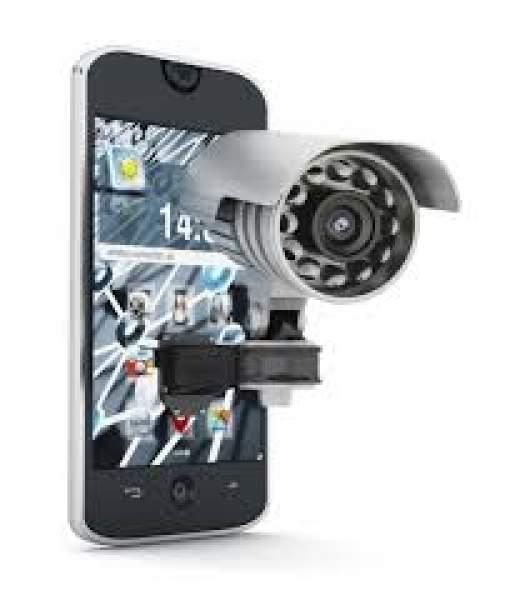 telefonino telecamera di sicurezza