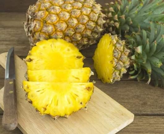 estratto digestivo con ananas