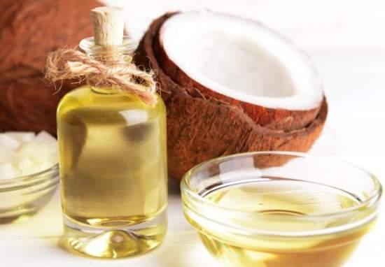 olio di cocco per maschera