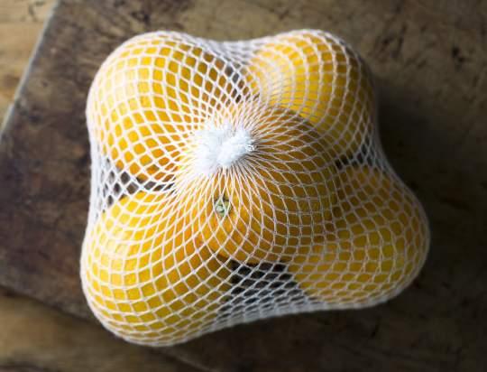 riciclo rete frutta