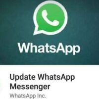 errore aggiornamento whatsapp