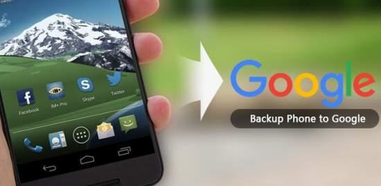 backup con google
