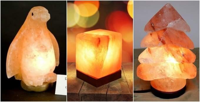 fare una lampada di sale