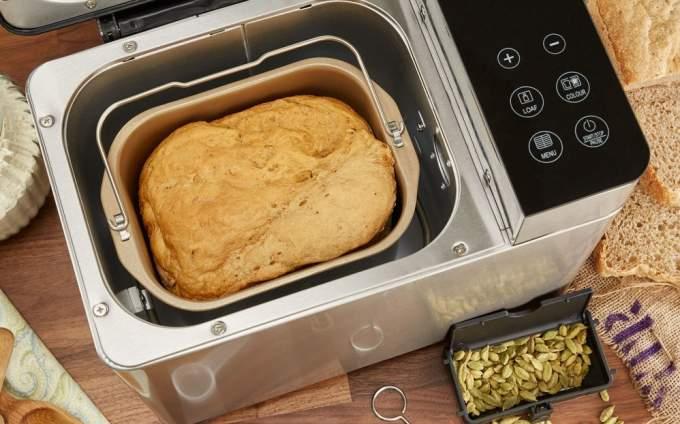 pulire macchina pane