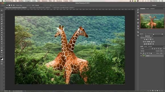 photoshop per trasformare immagini