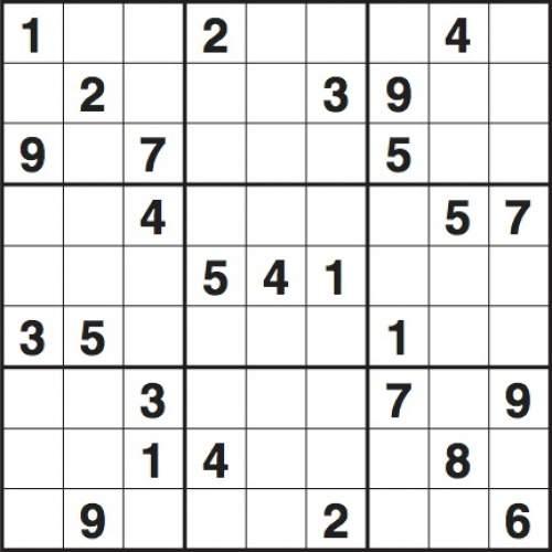 preparazione del sudoku