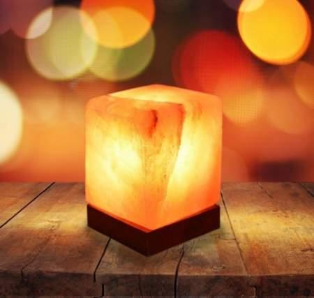 come si fa la lampada di sale