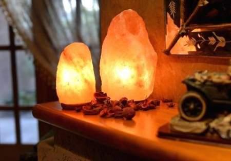 lampade di sale fatte in casa