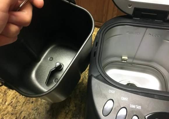 pulizia della macchina del pane