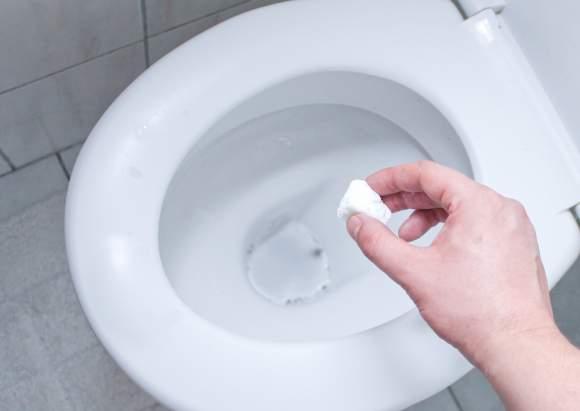 disinfettare tazza