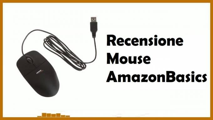amazon basics mouse usb recensione