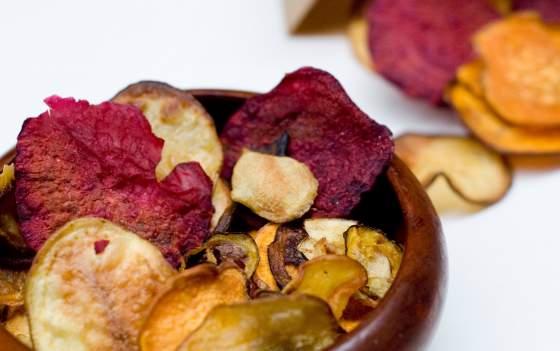 chips di verdura