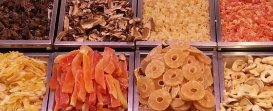 essiccare frutta e verdura