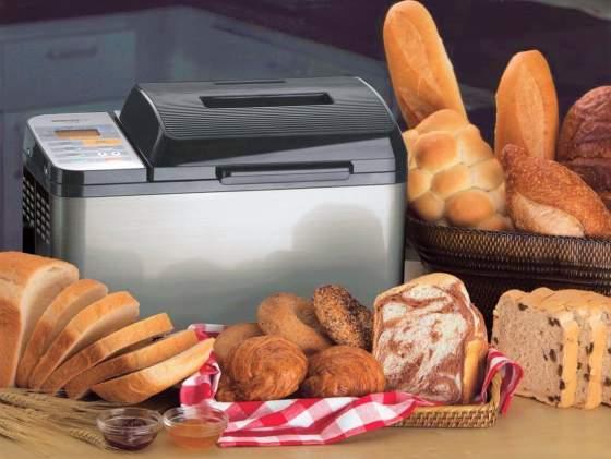 fare pane con la macchina
