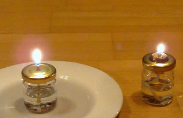 candele profumate senza cera