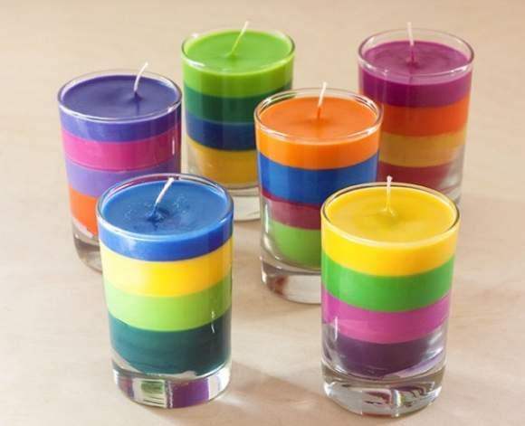 come si fanno le candele profumate riciclate