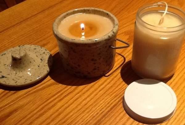 fare le candele con lo strutto