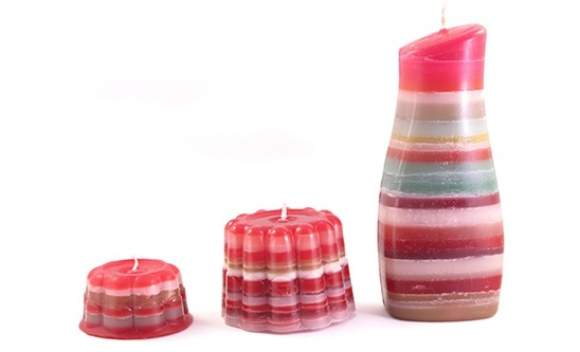 candele riciclate