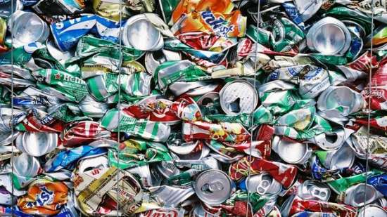 riciclare alluminio