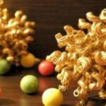 palline dorate pasta
