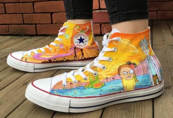 come dipingere le scarpe