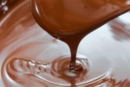 cioccolato fuso per torta