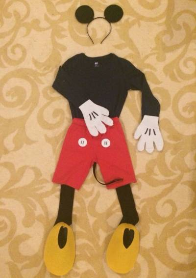maschera di topolino per carnevale