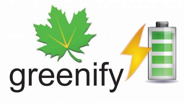 greenify per aumentare durata batteria