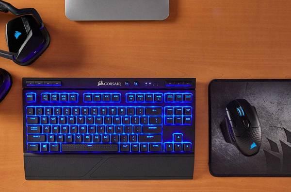tastiera da gaming wireless