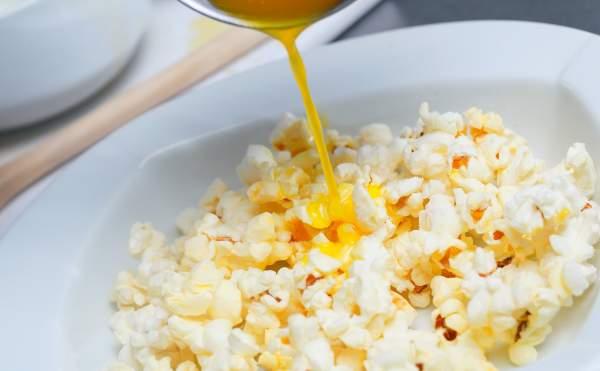 popcorn con il burro
