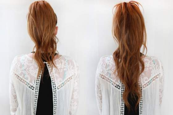 allungare i capelli in modo naturale