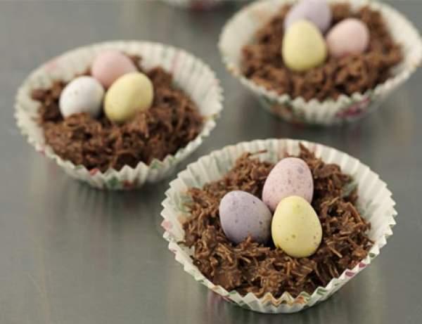ricetta nido cioccolato pasqua