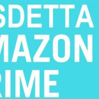 cancellare amazon prime