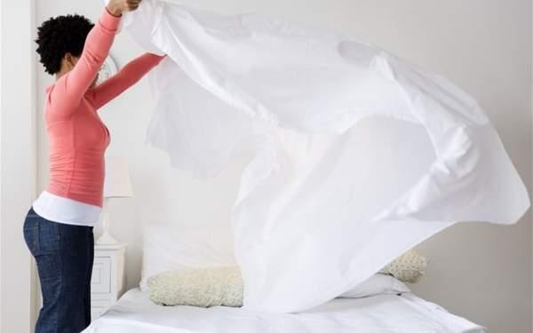 pulire la camera da letto