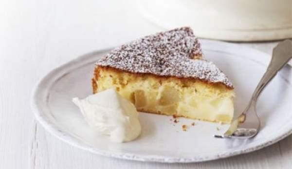 torta di pere senza zucchero