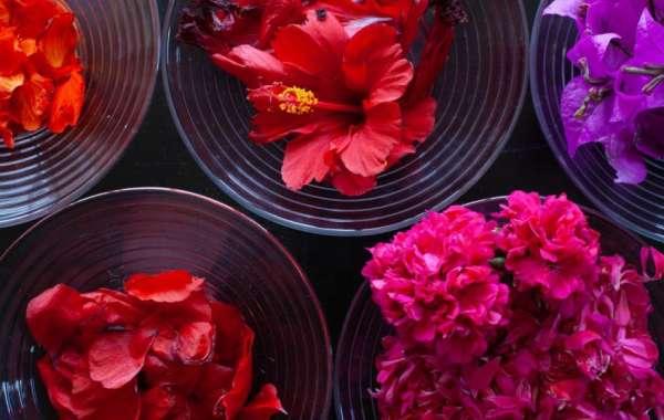 inchiostro naturale fatto con i fiori