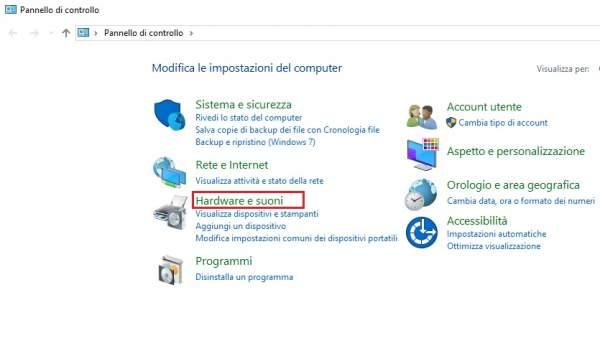 configurazione giradischi sul computer