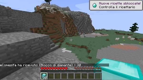 trovare diamanti su minecraft