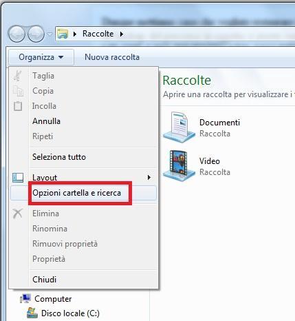 file nascosti su windows 7