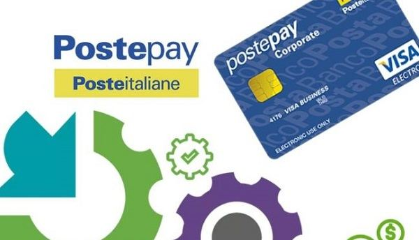 carta postepay corporate
