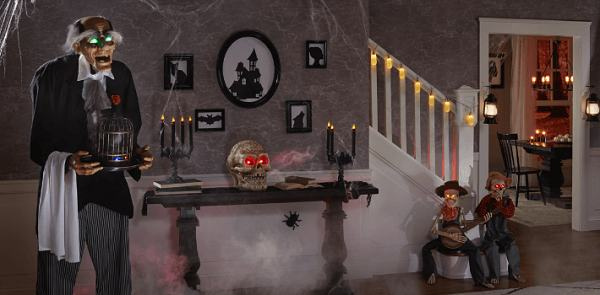 decorazioni halloween per interni
