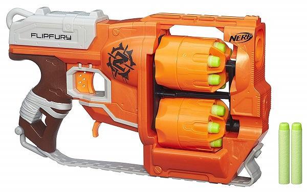 pistola giocattolo nerf