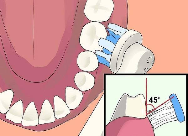 utilizzare correttamente lo spazzolino elettrico