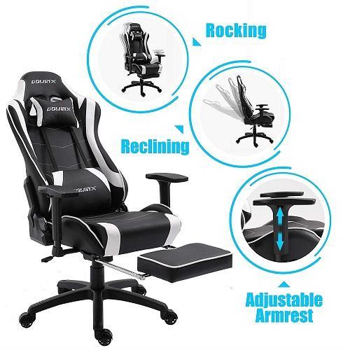 sedia da gaming ergonomica