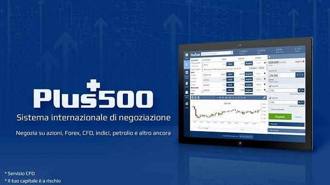 investire online con plus 500