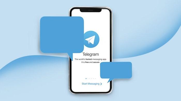 condividere file con telegram