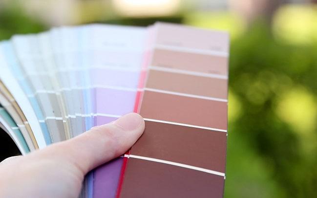 abbinare i colori di casa
