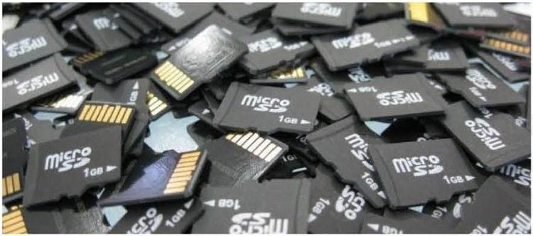 vecchia microsd per smartphone e tablet